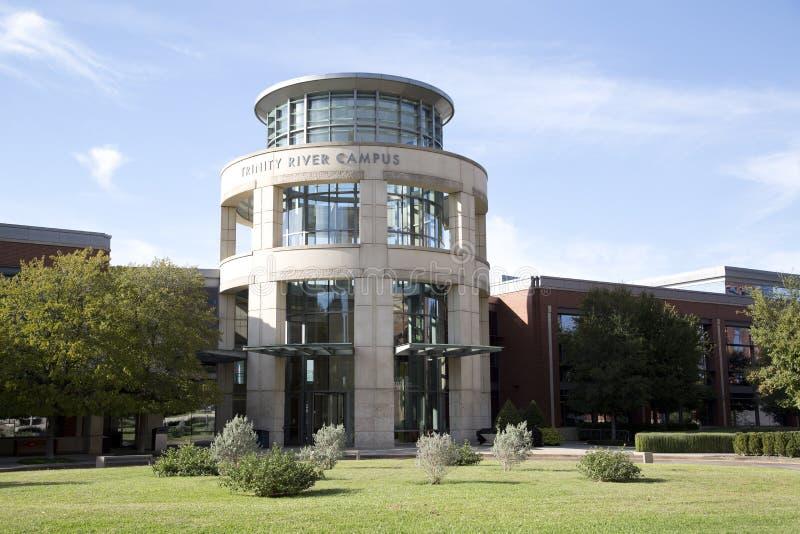 Campus gentil d'université du comté de Tarrant images libres de droits