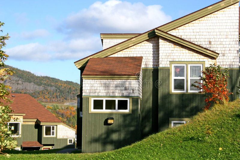 campus housing στοκ εικόνες