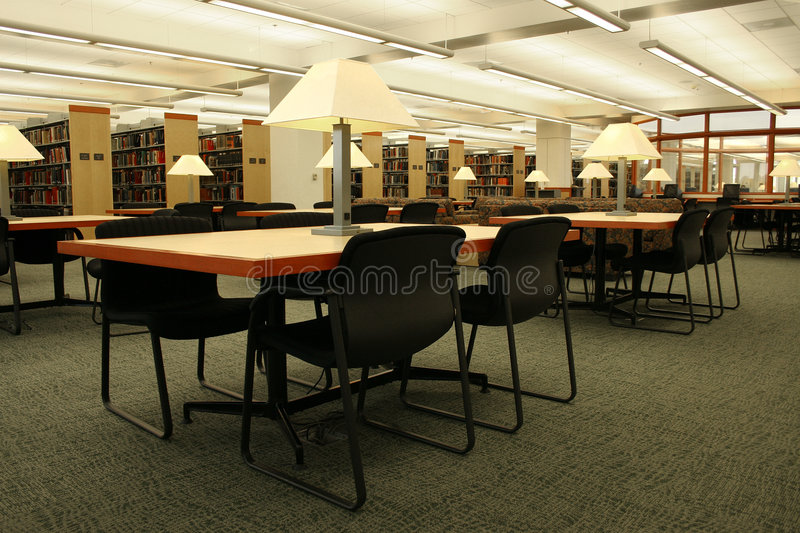 Campus Library royalty free stock photo
