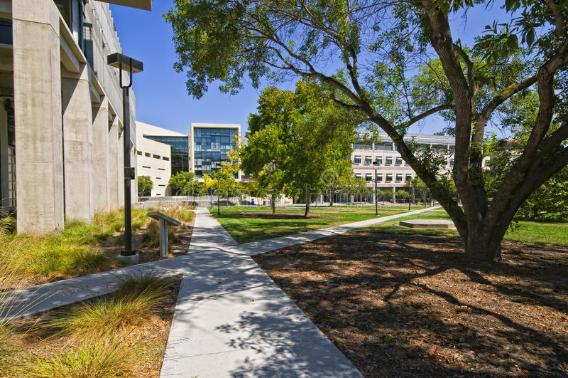 Campus, Uc San Diego imágenes de archivo libres de regalías