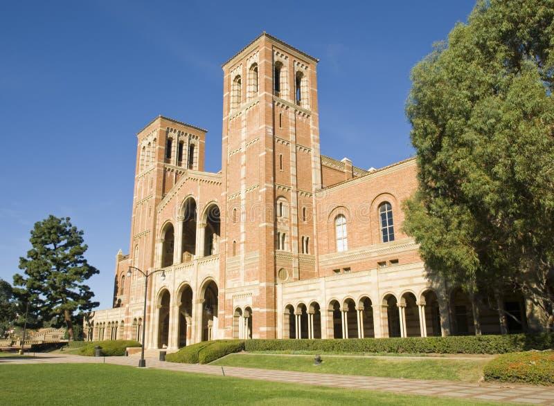 Campus universitaire de la Californie image libre de droits