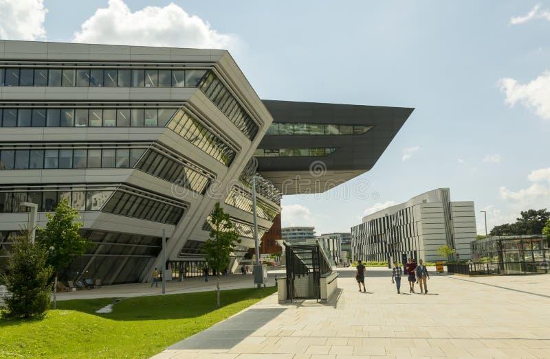 Campus universitaire de Vienne photographie stock