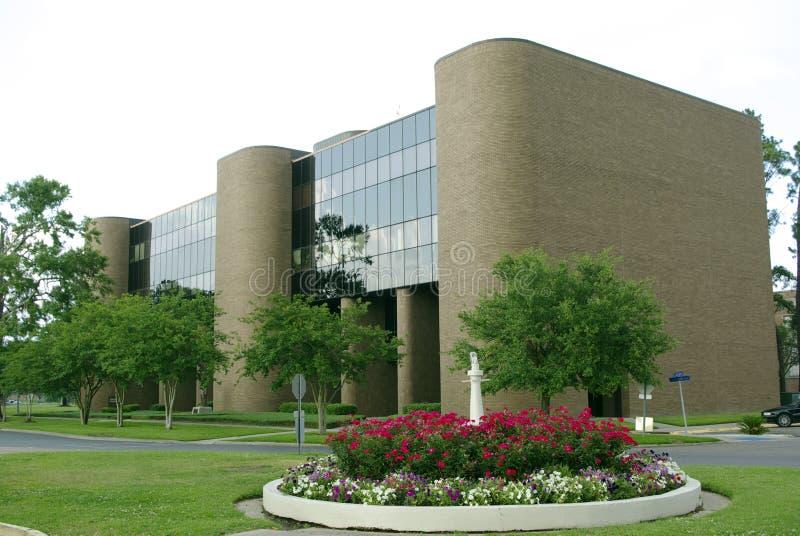 Campus universitaire méridional photographie stock