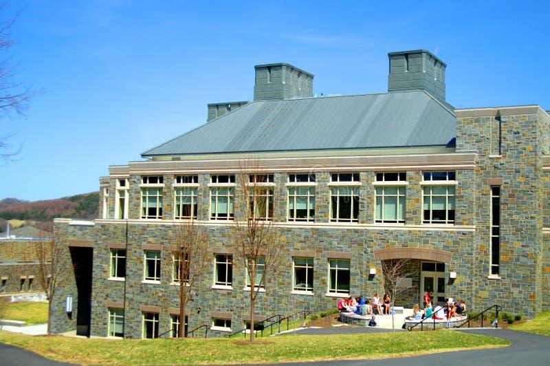 Campus universitario fotografía de archivo