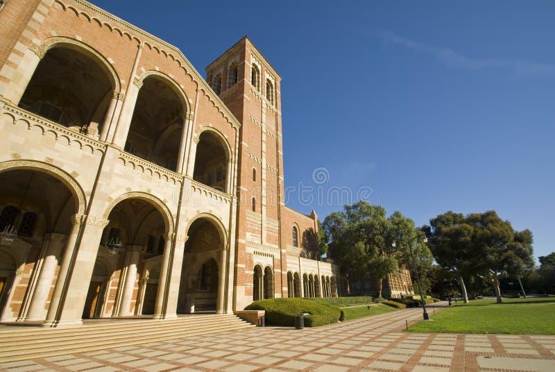 Campus universitario fotos de archivo