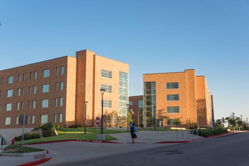 Campus universitario foto de archivo libre de regalías