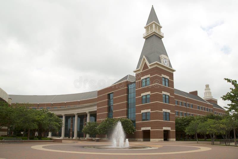 Campus universitario de Baylor imágenes de archivo libres de regalías