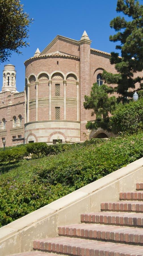 Campus universitario de la configuración del ladrillo imagen de archivo libre de regalías