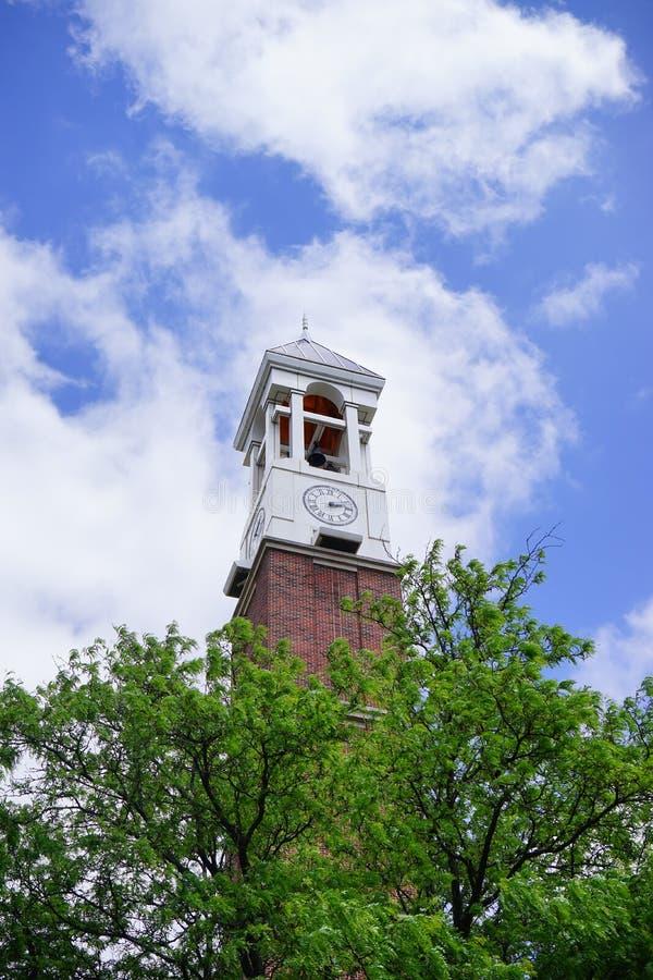 Campus universitario de Purdue foto de archivo