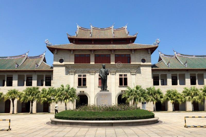 Campus universitario de Xiamen en China suroriental fotos de archivo libres de regalías