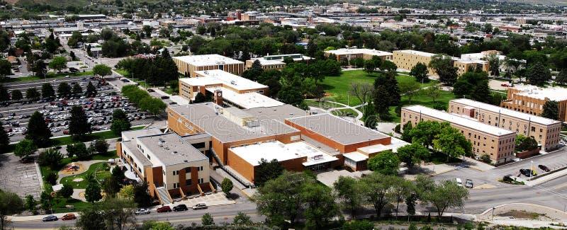 Campus universitario dello stato dell'Idaho fotografia stock libera da diritti