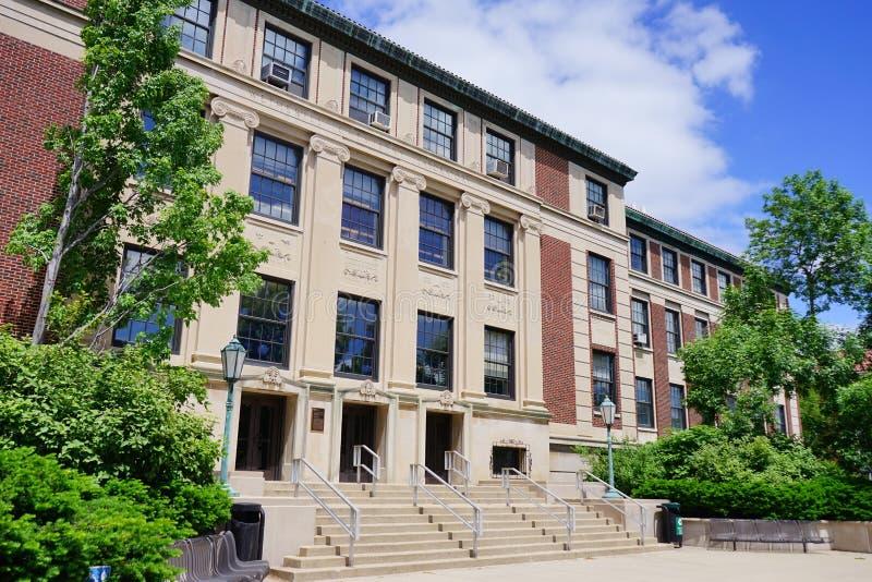 Campus universitario di Purdue fotografia stock