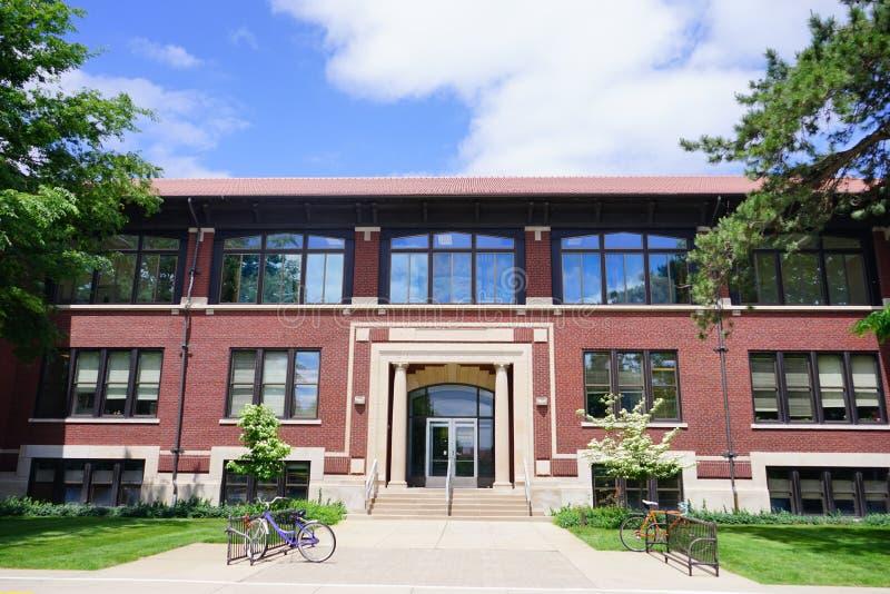 Campus universitario di Purdue fotografia stock libera da diritti