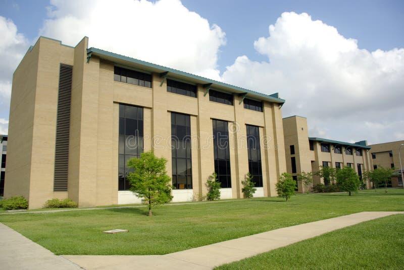 Campus universitario meridional foto de archivo