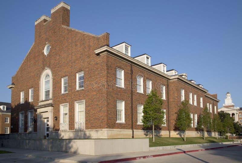 Campus universitario metodista del sud fotografia stock libera da diritti
