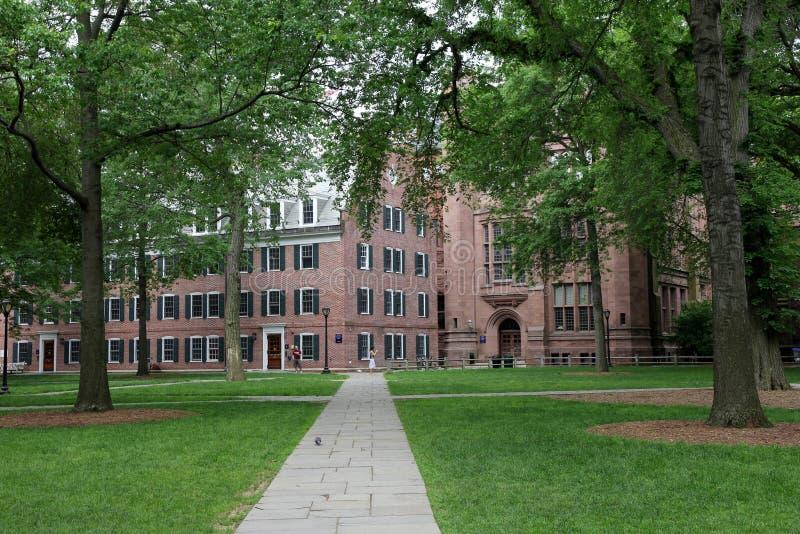 Campus viejo de la Universidad de Yale foto de archivo libre de regalías
