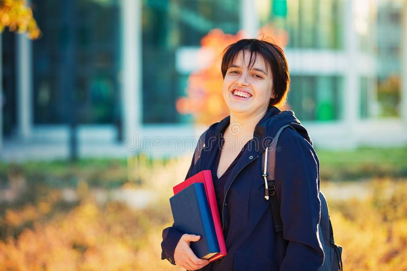 Campusportret royalty-vrije stock foto's