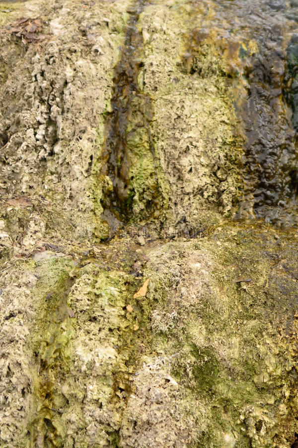 Camstone background. Beige background of camstone rock near the river royalty free stock images