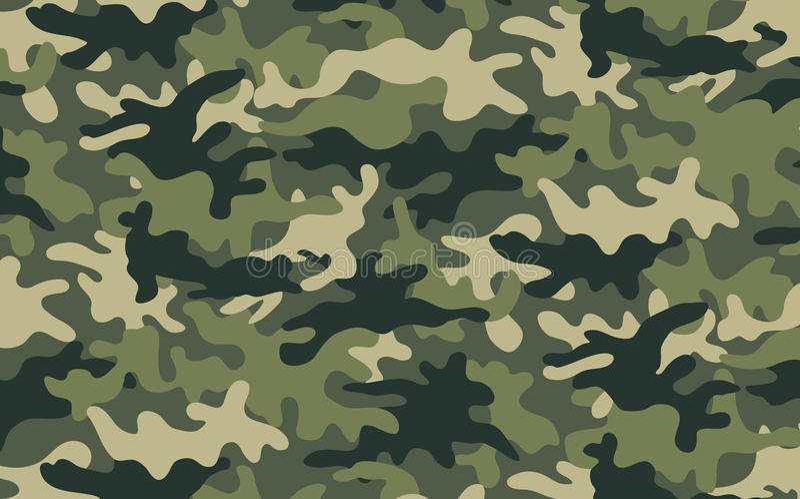 Camuflagem ilustração royalty free