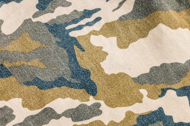 A camuflagem militar do exército arfa a textura e o bolso traseiro, sumário imagens de stock royalty free