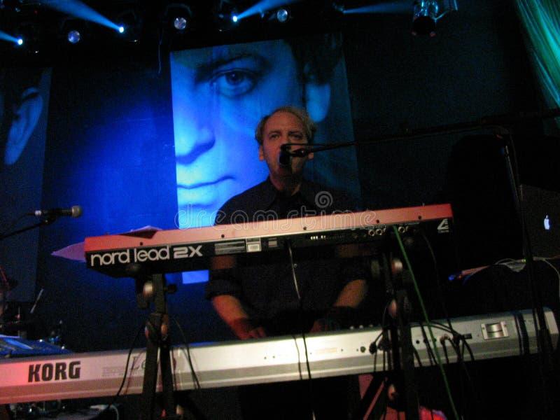 A camuflagem vive no concerto em Moscou, excursão 2004 do sensor fotos de stock royalty free