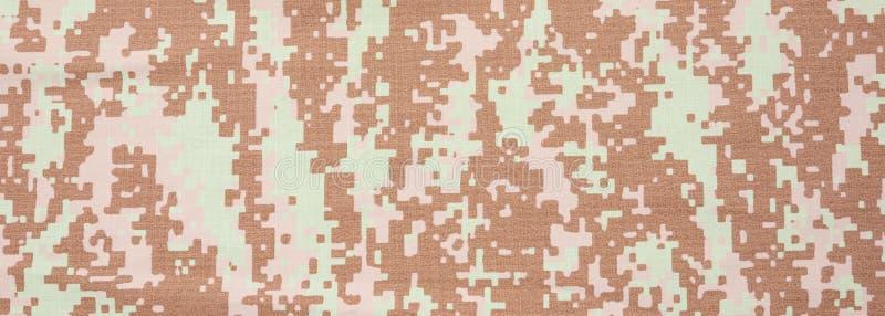 Camufle o fundo da textura da tela, bandeira, opinião do close up imagem de stock