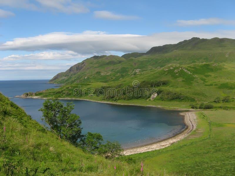 Camus Nan Geall Bay (Scotland) stock photos
