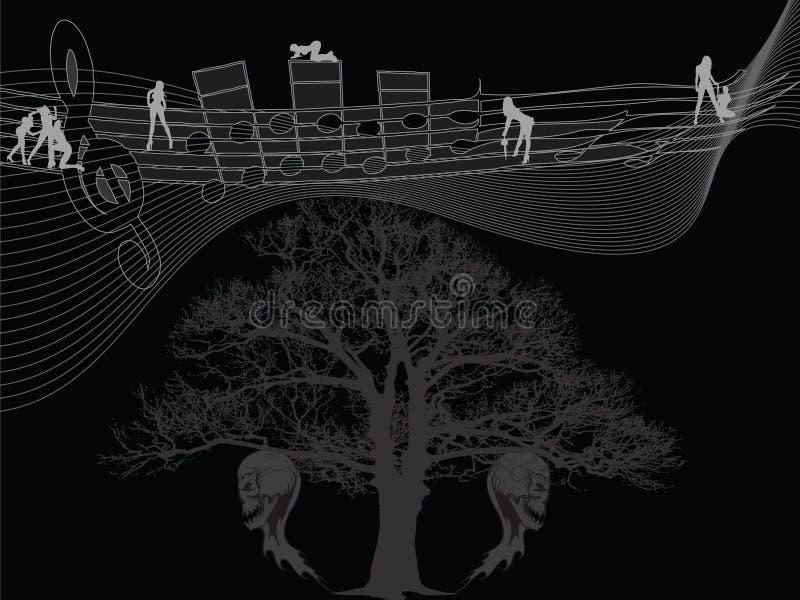 Canção de verdadeiro ilustração royalty free