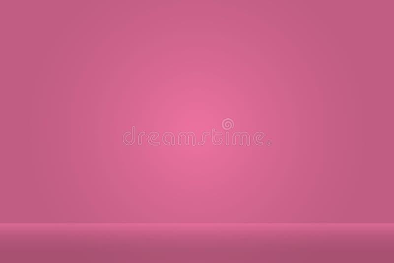 Studio background. Vector empty studio for your design. stock illustration