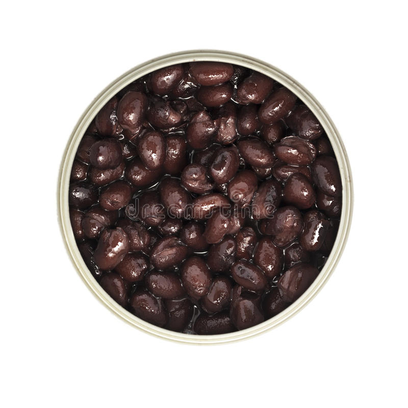 Can of Beans stock images