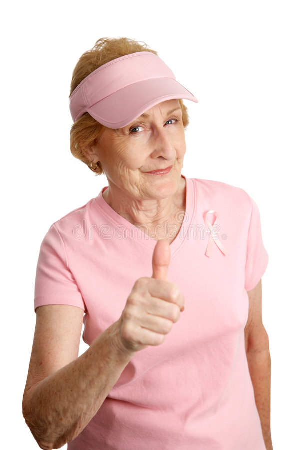 We Can Beat Breast Cancer royalty free stock photo