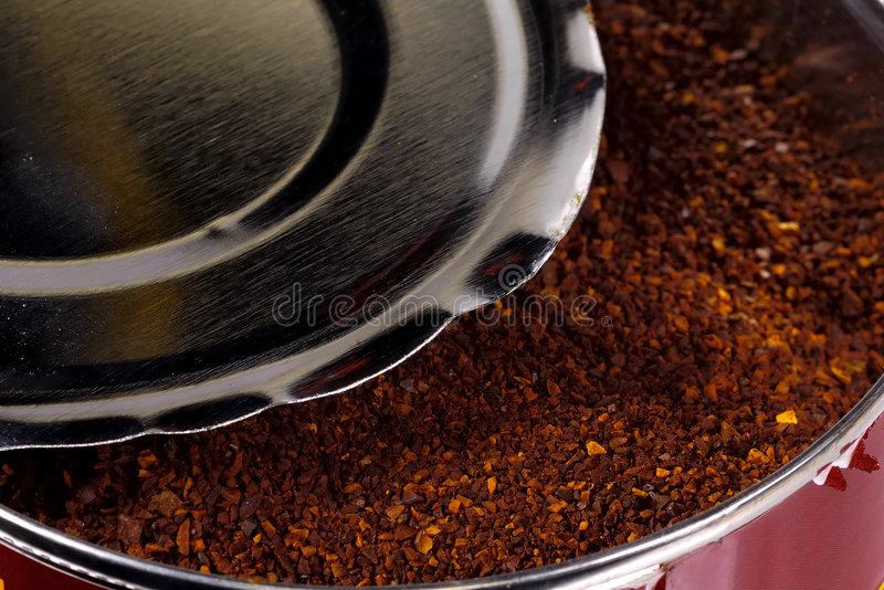 Can of Coffee stock photography