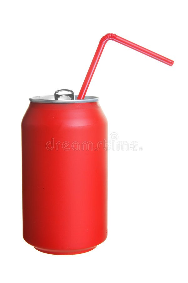Can of cola royalty free stock photos