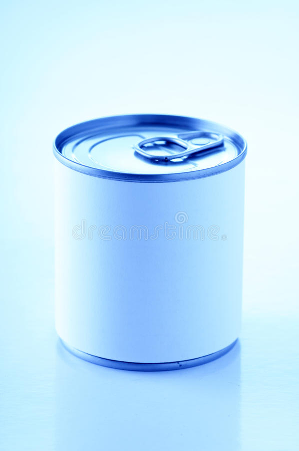 Can of food royalty free stock photography