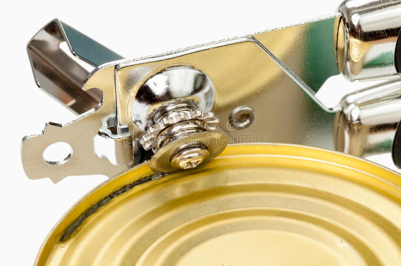 The can opener royalty free stock images