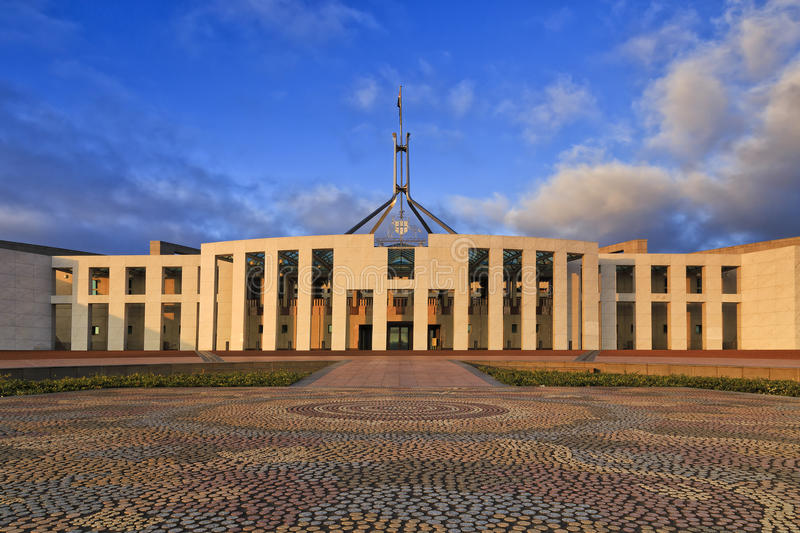 CAN Parliament Rise aboriginal royalty free stock images