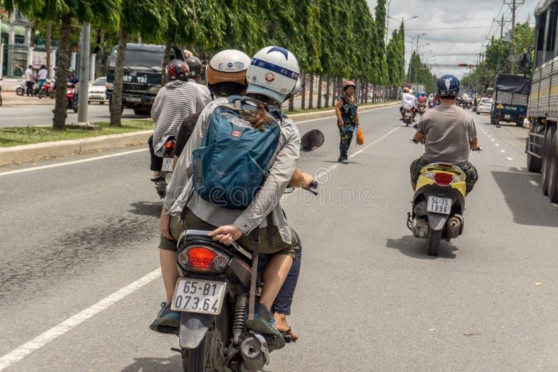 Can Tho Vietnam royaltyfri foto