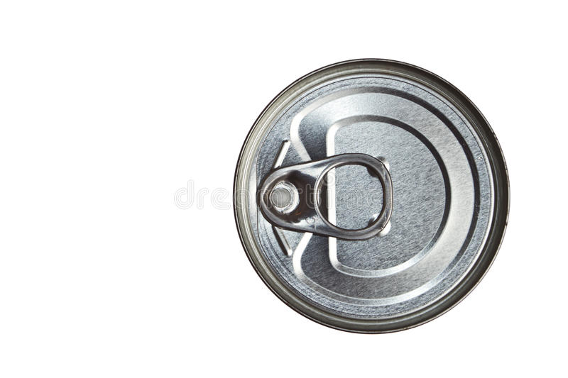 Download Can on top view stock image. Image of shiny, silver, circular - 22241005