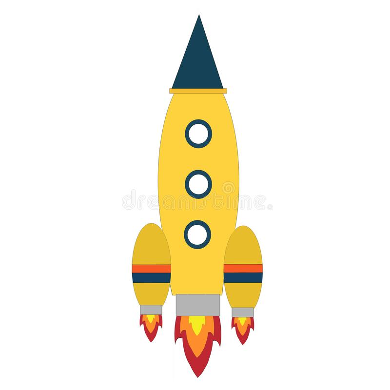 New Infographic Space Rocket Clip Art. It can use for logo design , creative infragrapic and create web design stock illustration