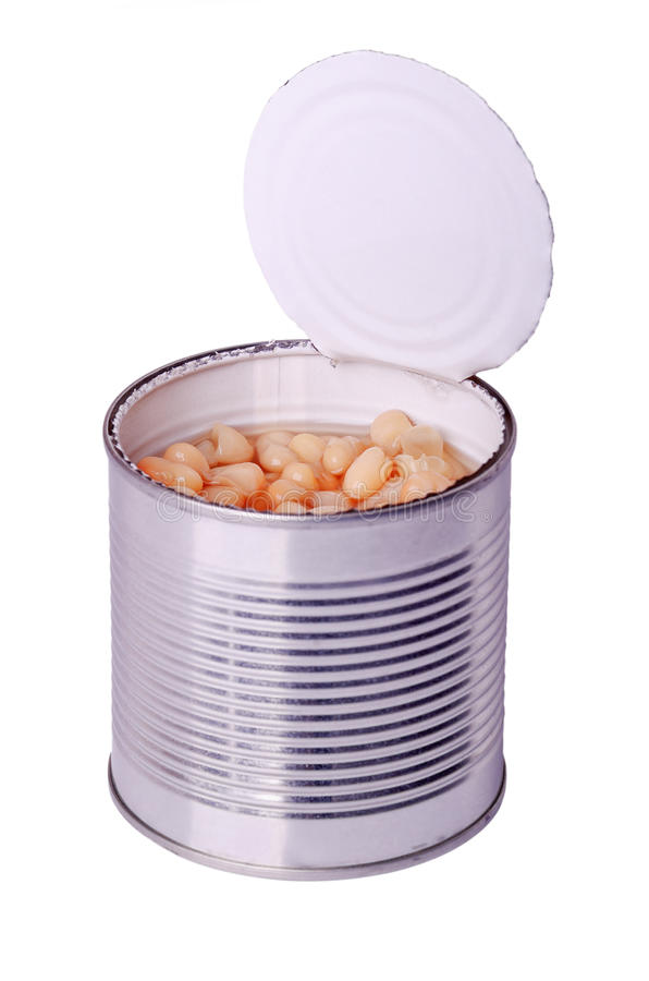 Download Can with white beans stock image. Image of backgrounds - 26812723