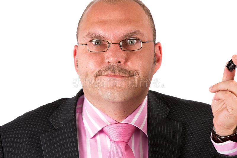 Can you believe this guy? stock photo