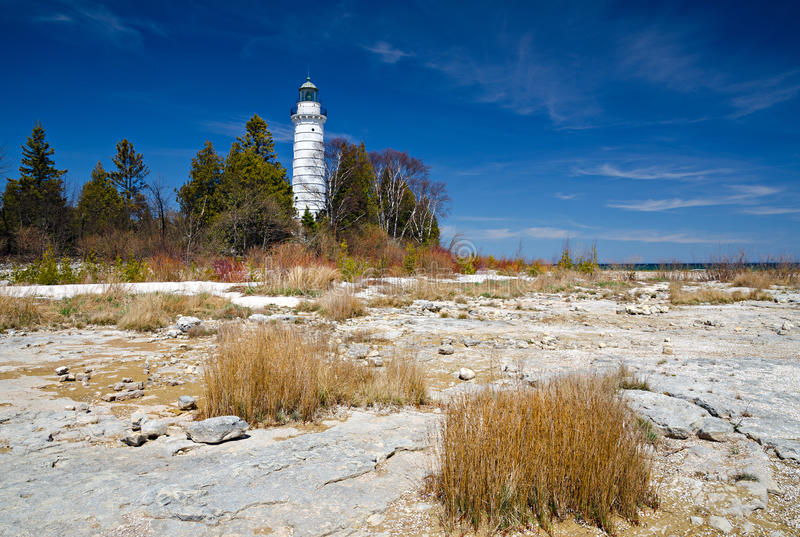 Download Cana Island Lighthouse stock image. Image of recreation - 31037837