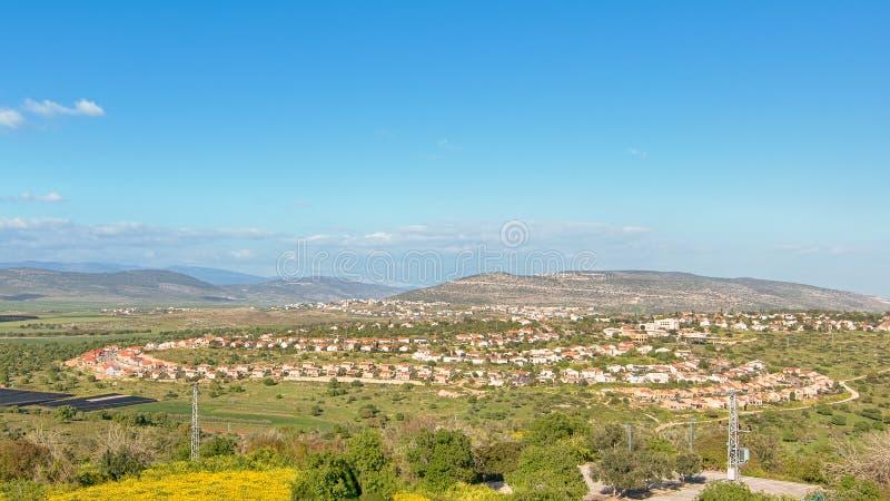 Cana, Jesus Trail, Nationalpark Zippori, Israel stockbilder