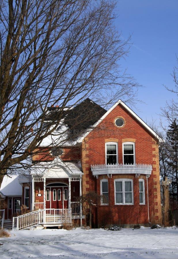 Canadá, casa do Victorian imagens de stock