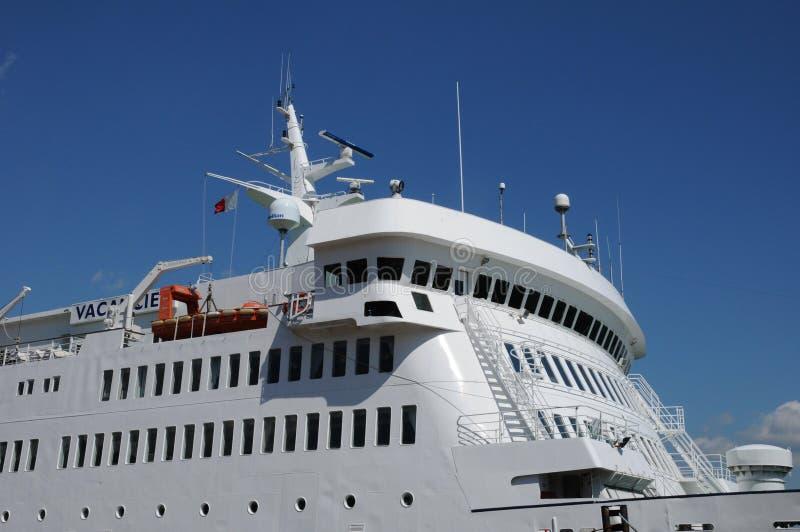 Canadá, transbordador en Quebec fotografía de archivo libre de regalías