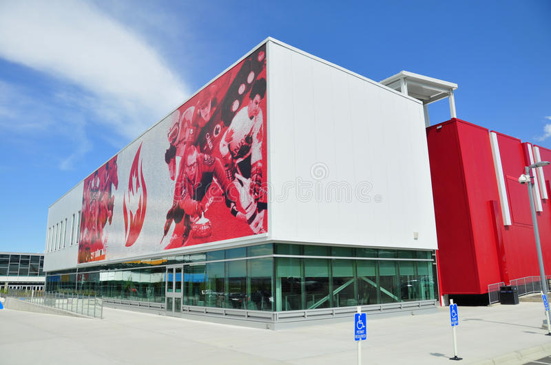 Canada's Sports Hall of Fame royalty free stock photography