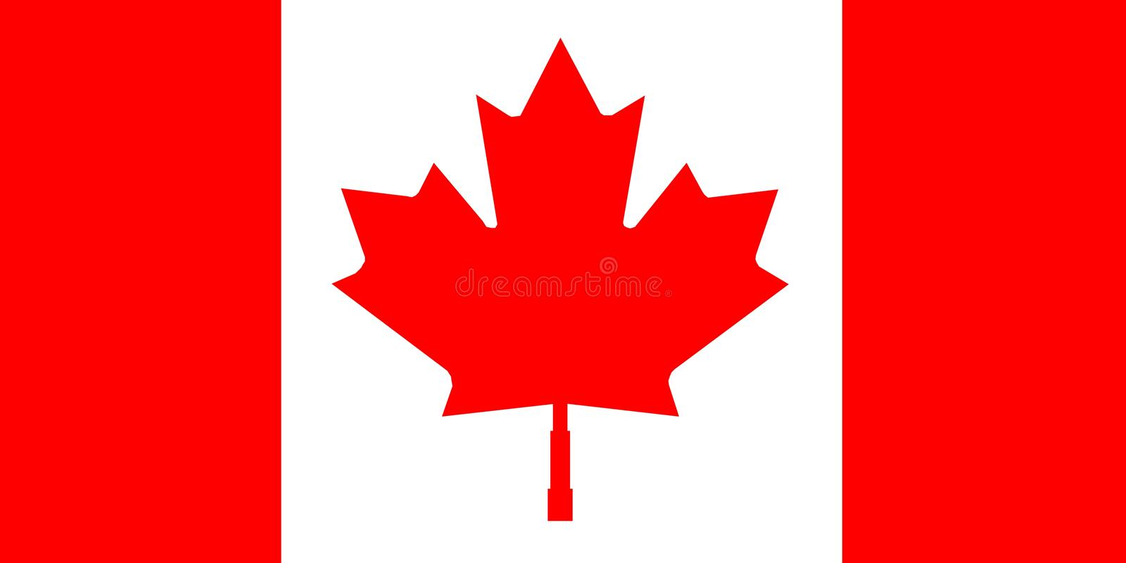 Download Canada stock vector. Image of nations, illustrations, flag - 30923