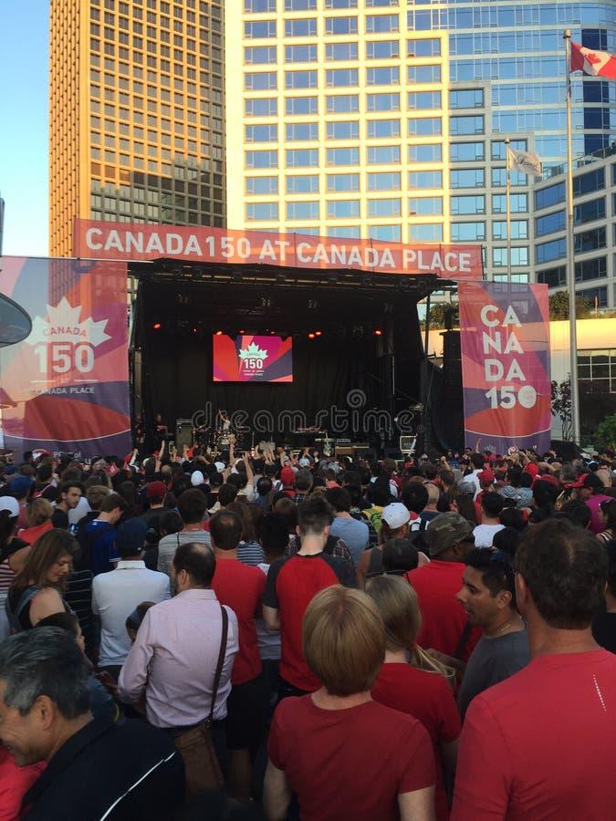 Canada 150 photo libre de droits