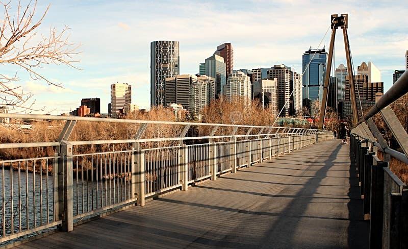 Canada Alberta Calgary Downtown images stock