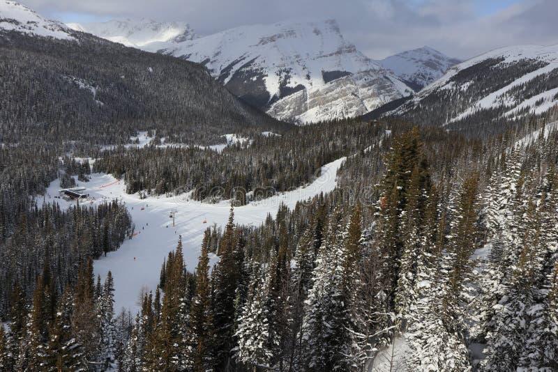 Canada, Banff Sunshine Village stock image